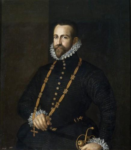 Anónimo español, s. XVI: Caballero de la orden de Calatrava. Museo del Prado, Madrid.