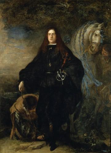 Juan Carreño de Miranda: Don Gregorio de Silva Mendoza y Sandoval, duque de Pastrana, cir 1679 (Museo del Prado)