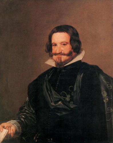 Velázquez, el Conde-Duque de Olivares (Pinacoteca de Dresde)