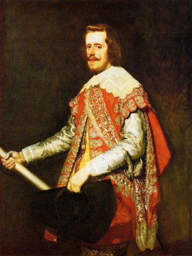 "Retrato de Felipe IV (""de Fraga"") pintado por Velázquez durante la campaña de Cataluña"