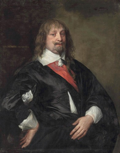 Anthony van Dyck,  Robert Howard (1626-1698)