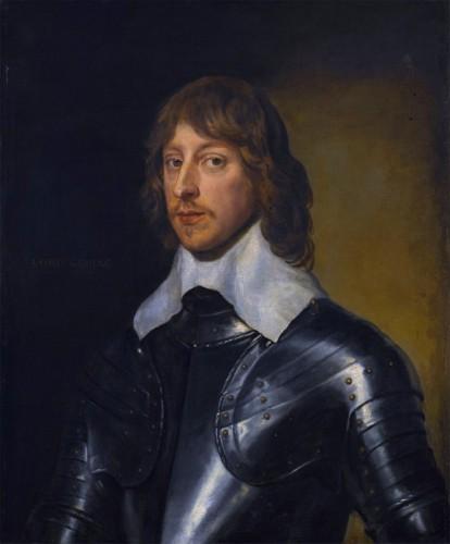 Van Dyck: George, Barón Goring (1608-1657)
