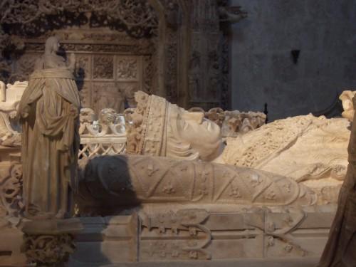 Sepulcro de don Juan II. Cartuja de Miraflores, Burgos